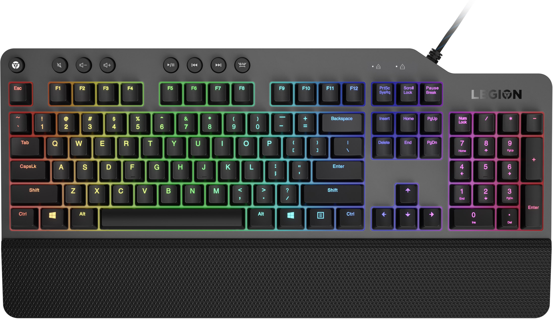 Клавиатура Lenovo Legion K500 RGB Mechanical Gaming Keyboard GY40T26479