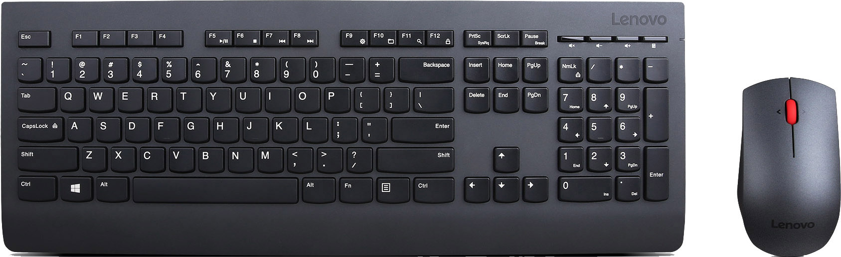 Клавиатура и мышь Lenovo Wireless Keyboard and Mouse Combo 4X30H56821