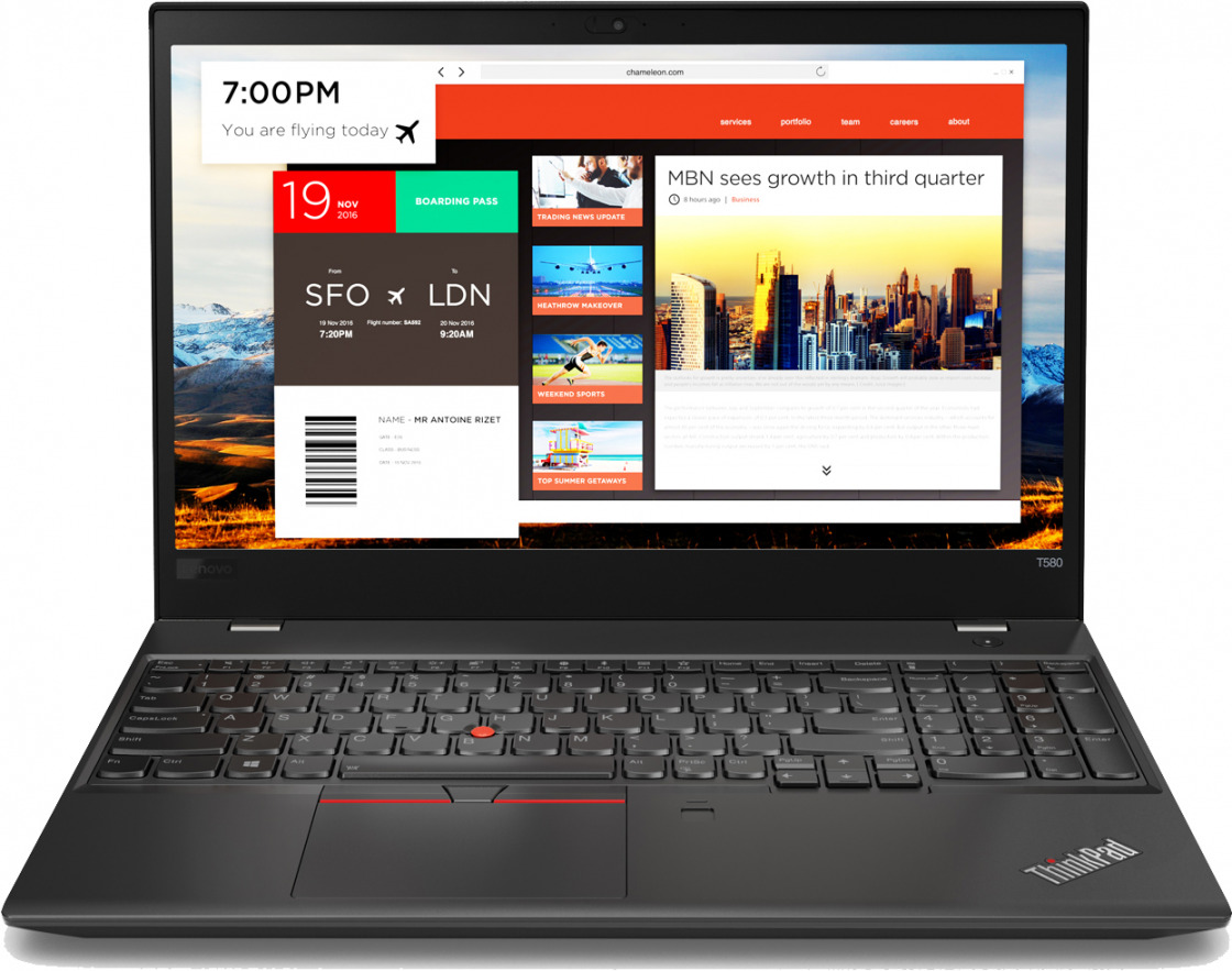 Ноутбук Lenovo ThinkPad T580 20L90023RT