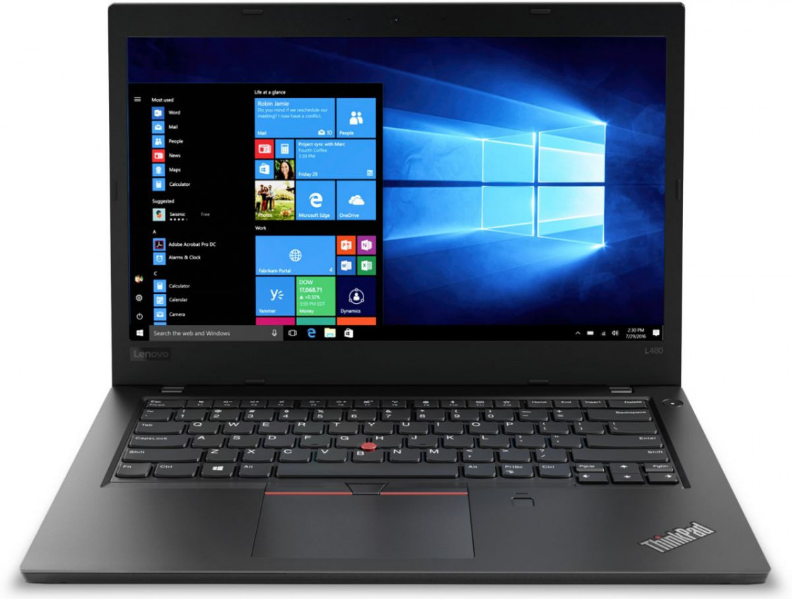 Ноутбук Lenovo ThinkPad L480 20LS0016RT